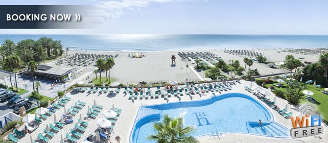 Great location on Carihuela Beach