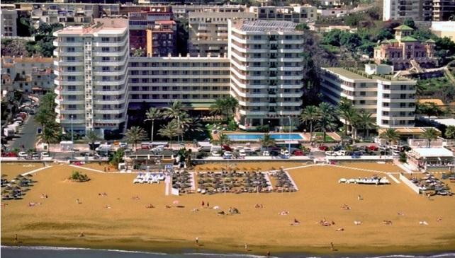 Bajondillo Apartments aerial view