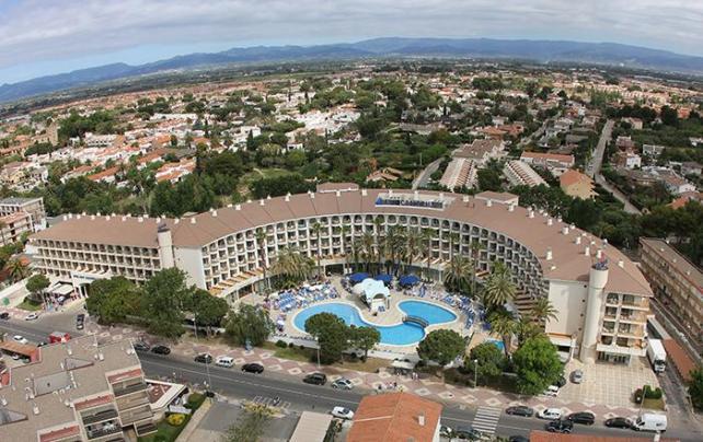 Hotel Best Cambrils Aerial Shot